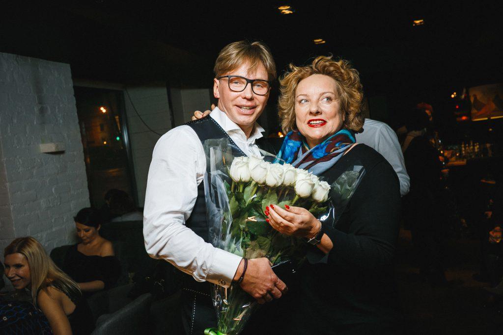 Эдгар Шабанов и Регина фон Флемминг
