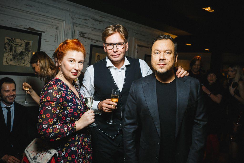 Ольга Бабанакова, Эдгар Шабанов и  Игорь Чапурин