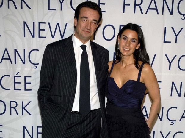 Оливье Саркози и Шарлотт Бернард