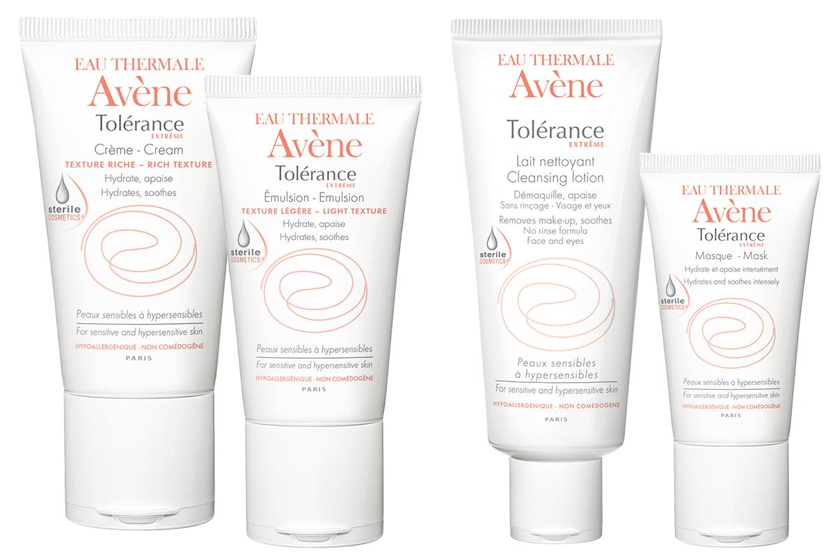 Линейка средств для чувствительной кожи Tolerance Extreme, Avene