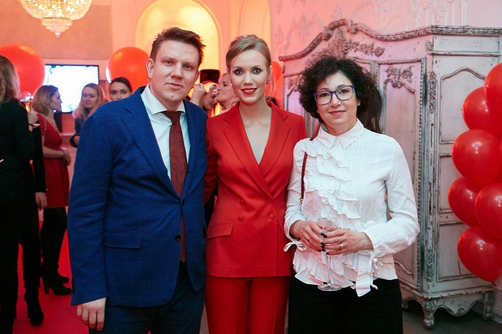 Евгений Капьев, Елена Крыгина и Лидия Ошеверова