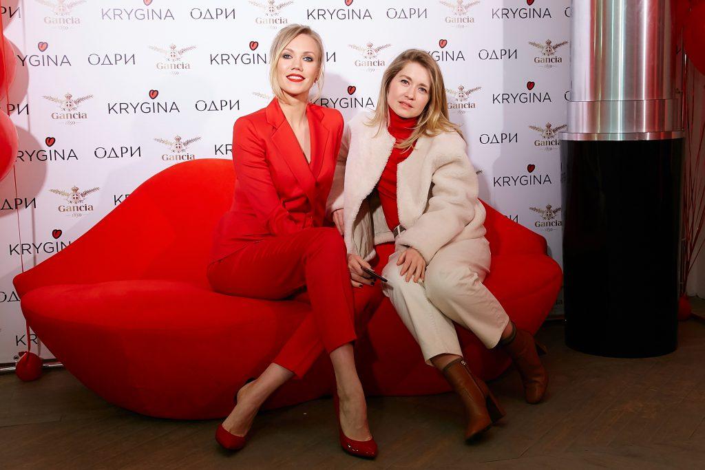 Елена Крыгина и Полина Сохранова
