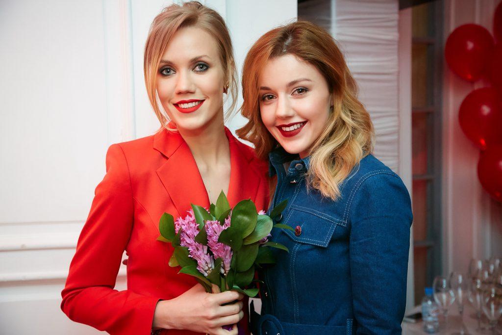Елена Крыгина и Юлианна Караулова