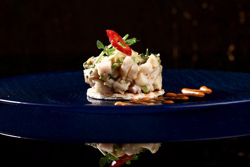 Салат «Индигирка» (сет из четырех блюд 2200 р.)