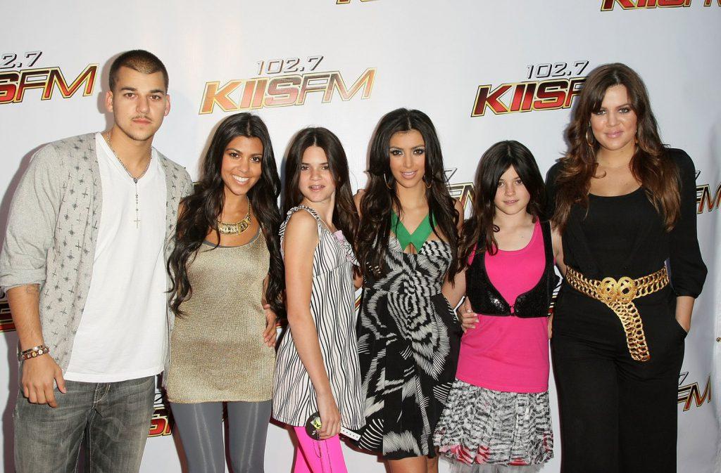 Семейство Кардашьян в 2008 году