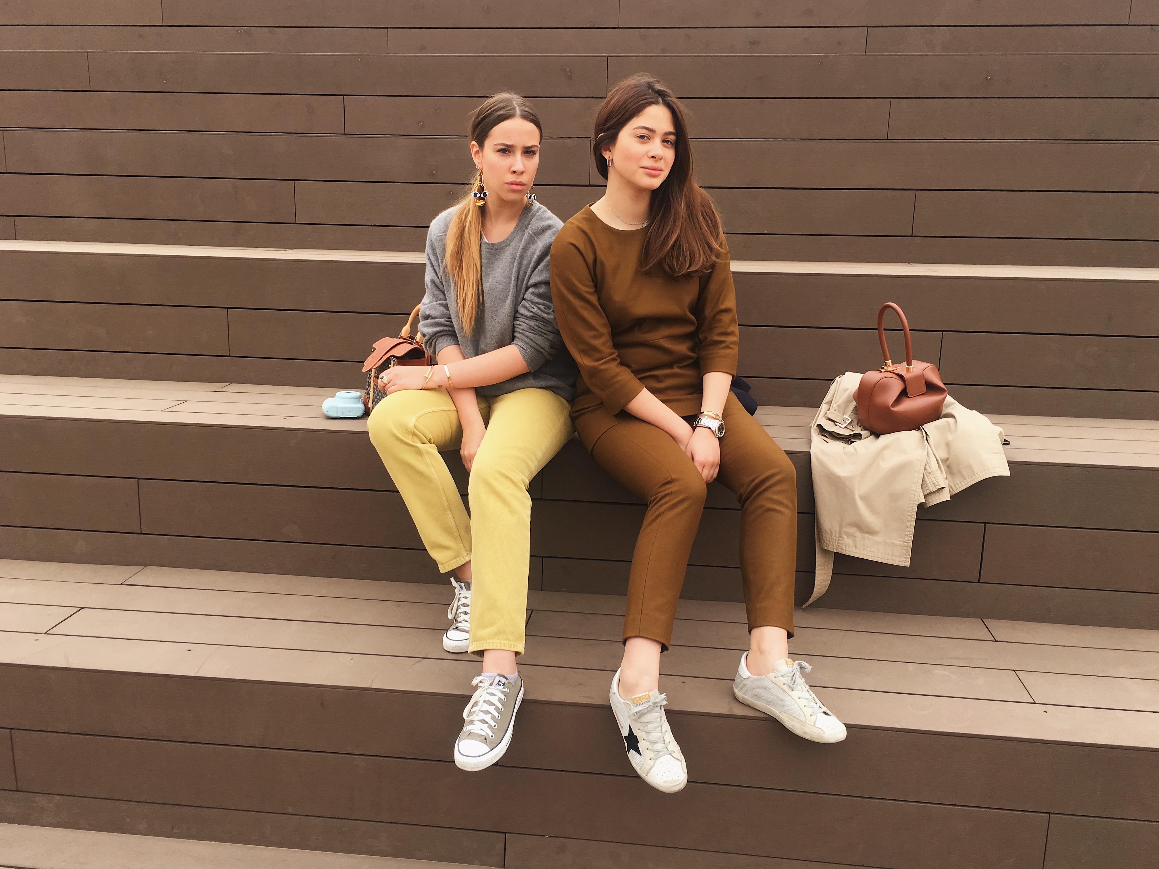 Лиза Аминова и Анка Ахалая