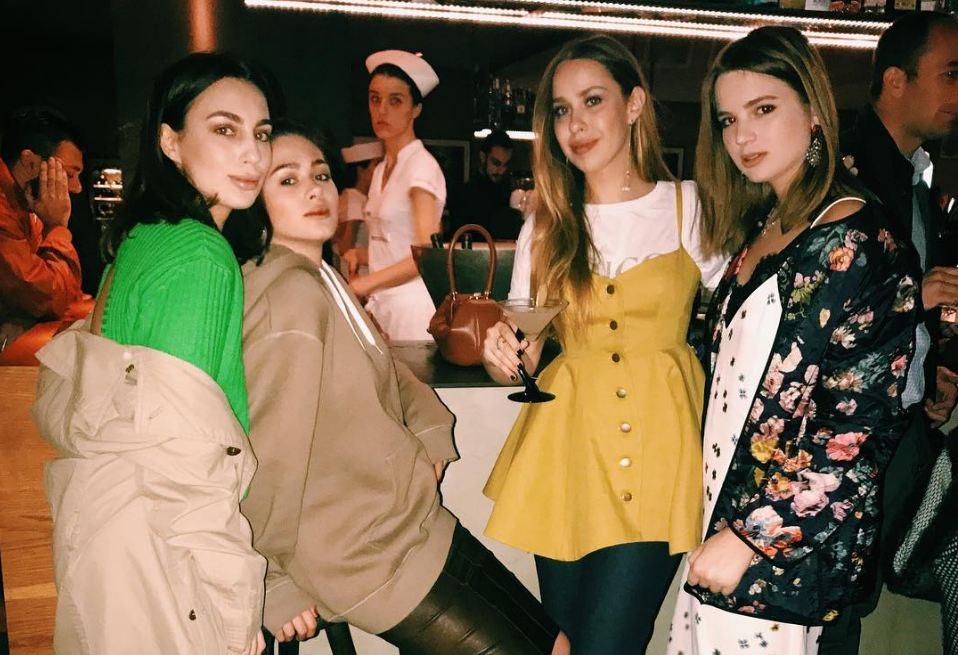 Дарина Фаизова, Анка Ахалая, Лиза Аминова и Александра Маниович