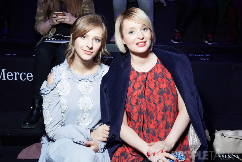 Елизавета Арзамасова и Поля Полякова