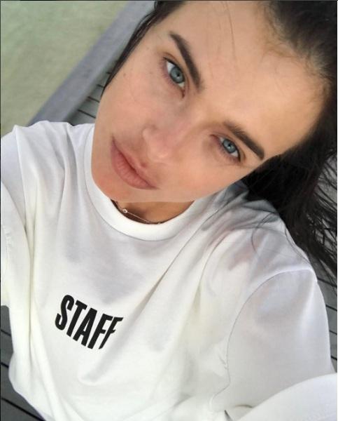 Лена Темникова отдыхает на Мальдивах