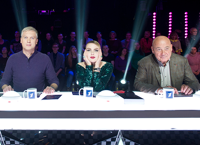 Сергей Светлаков, Рената Литвинова,, Владимир Познер