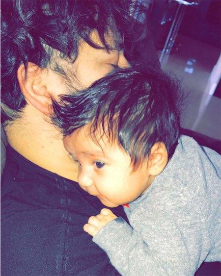 Роб Кардашьян с дочерью Дрим