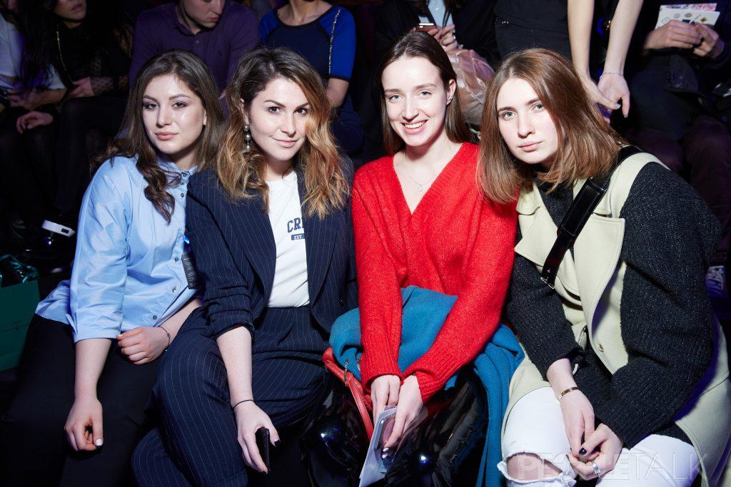 Виктория Танес, Лаура Джугелия, Екатерина Шкулипа и Алина Григалашвили