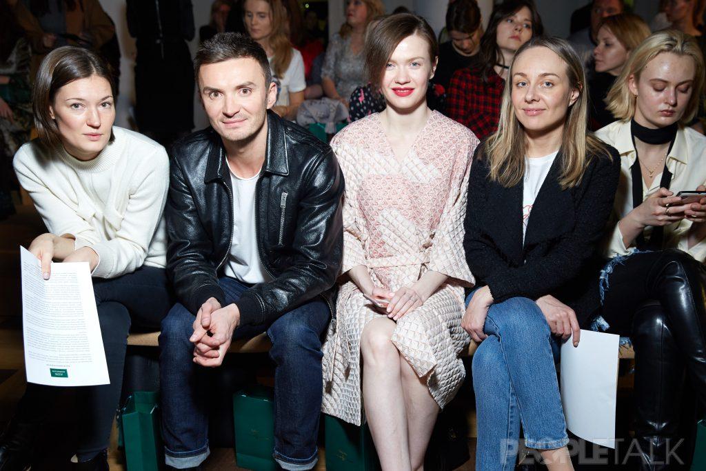 Евгений Заболотный, Таня Ткачук и Екатерина Быкова