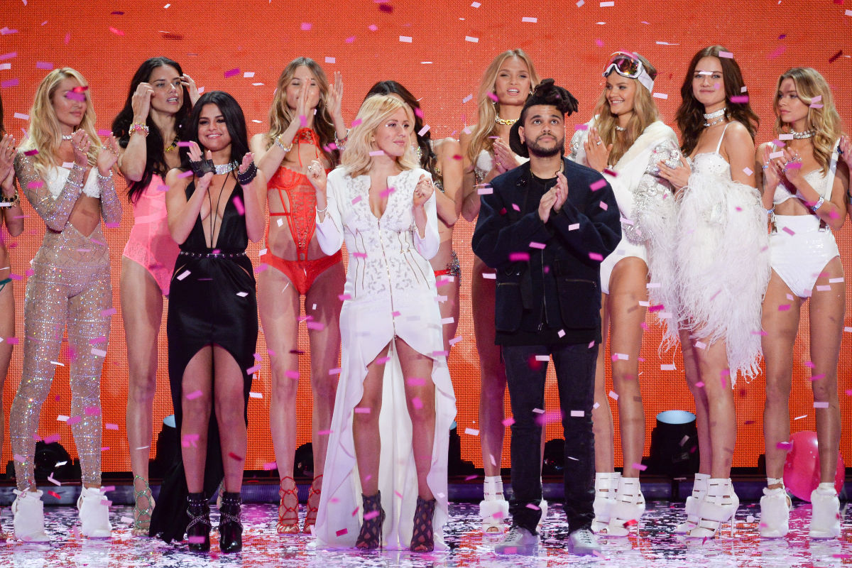 Селена Гомес и The Weeknd на шоу Victoria's Secret