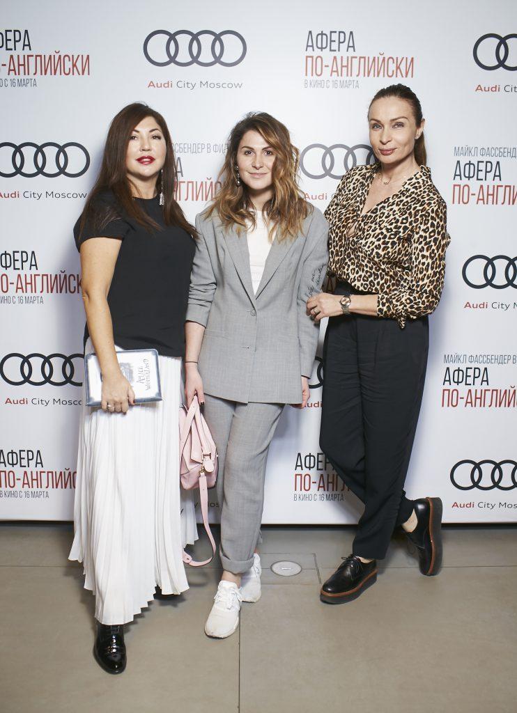 Мария Лемешева, Лаура Джугелия и Евгения Попова