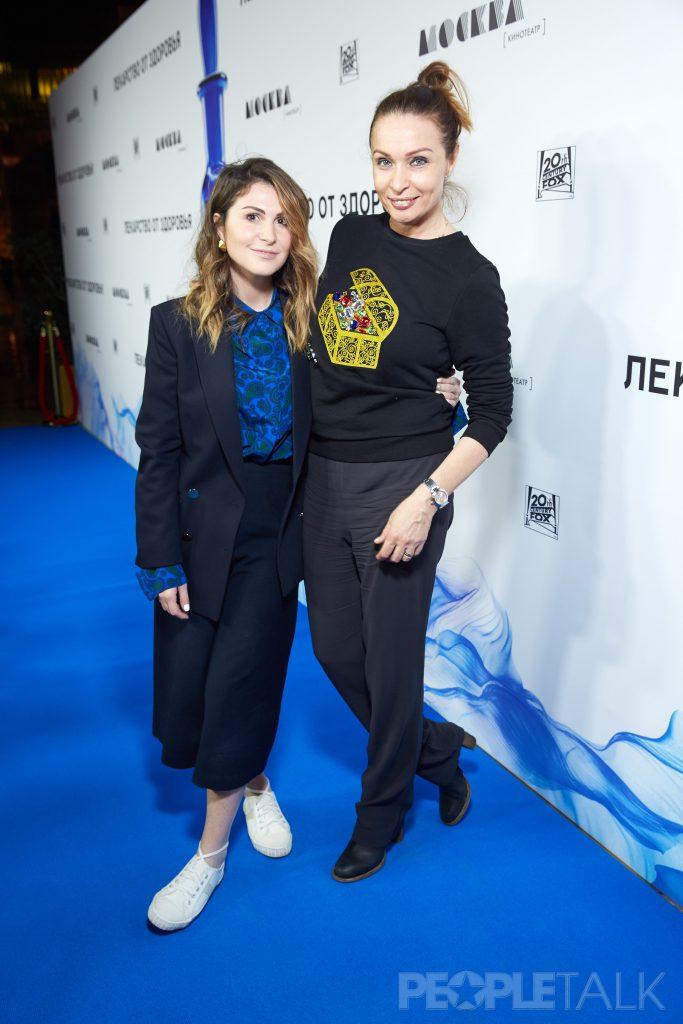 Лаура Джугелия и Евгения Попова