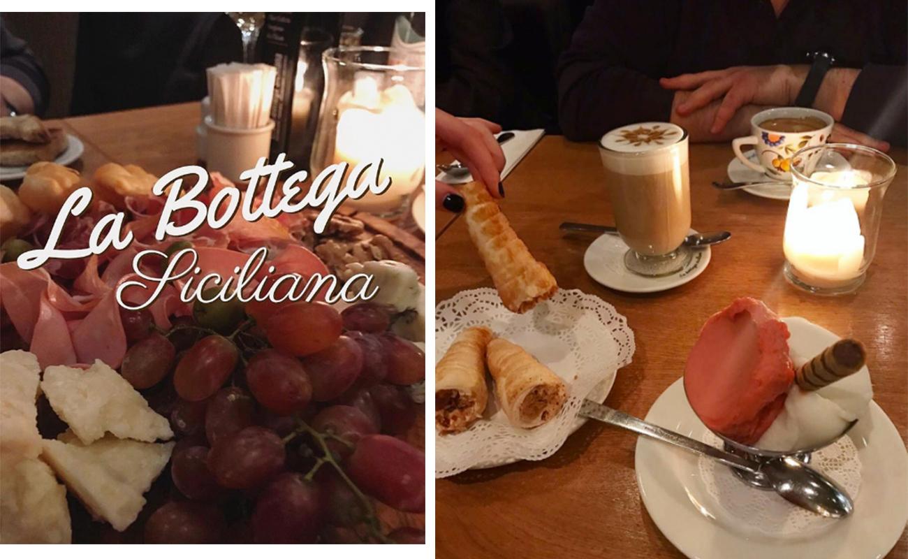 La Bottega Siciliana десерт