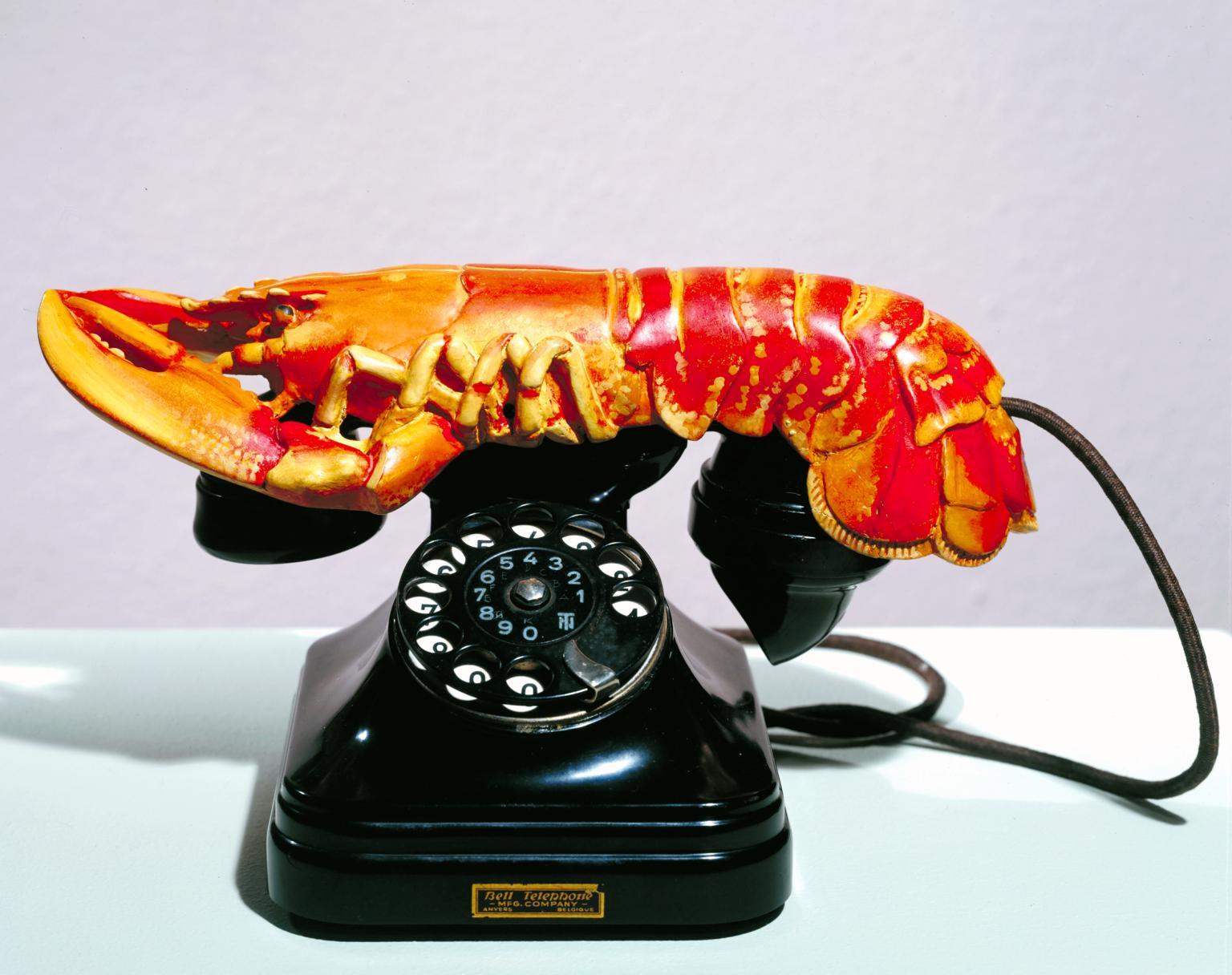 «Телефон-омар», Сальвадором Дали