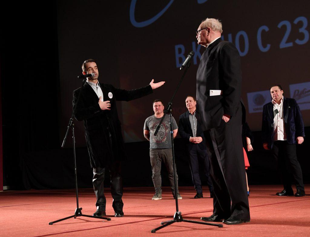 Дмитрий Певцов и Владимир Бортко