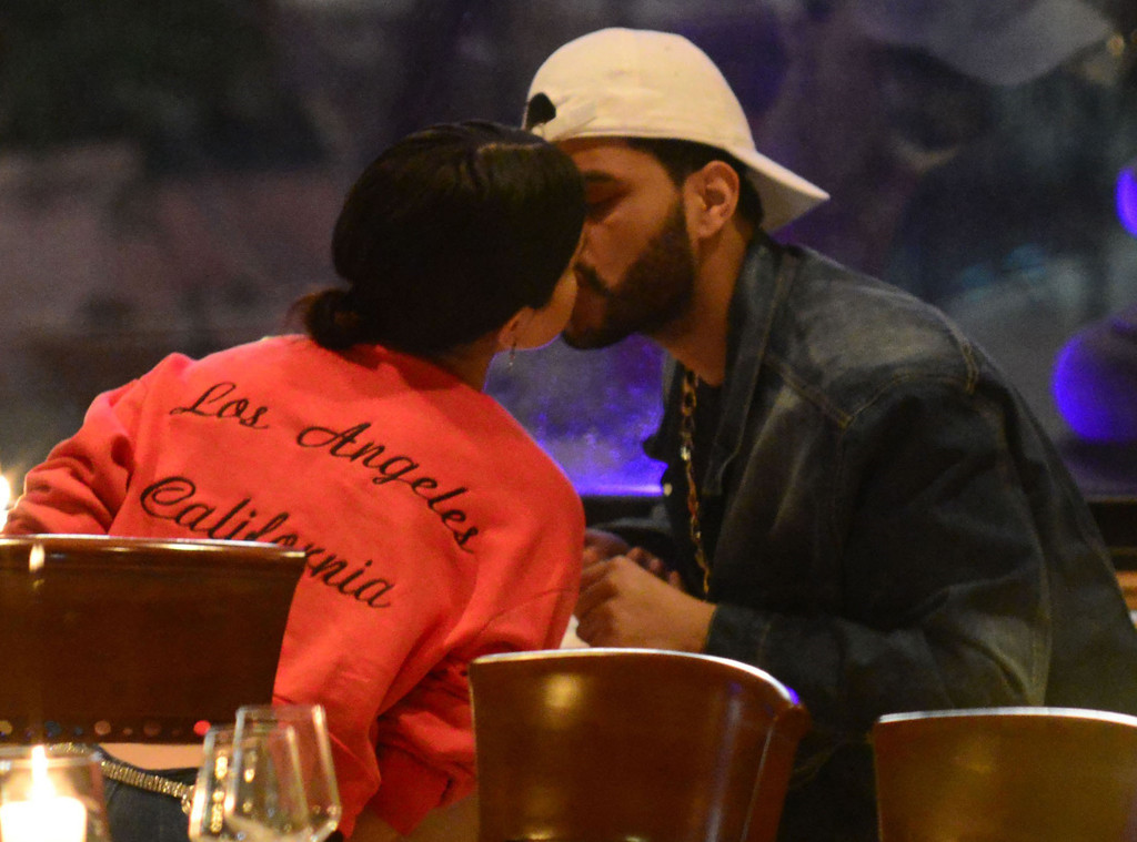 Селена Гомес и The Weeknd во Флоренции
