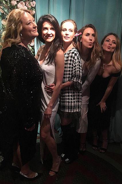 — Мария Федорова, Ксения Соловьева, Наталья Ионова, Дарья Веледеева и Екатерина Мухина