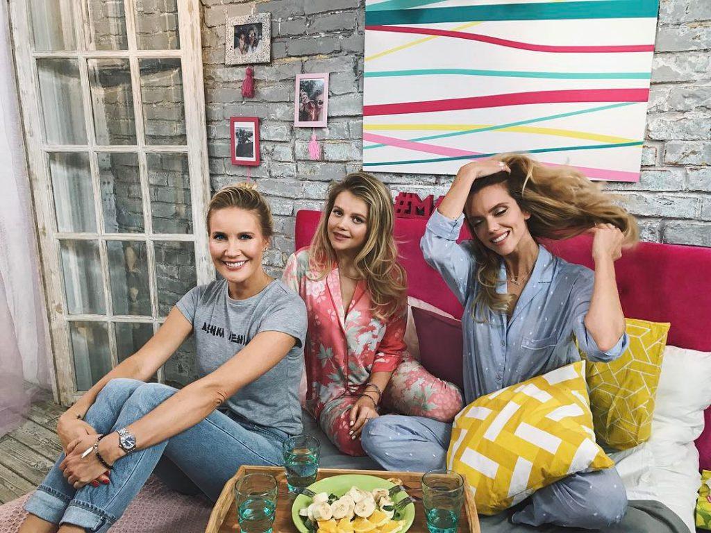 Мария Ивакова и Елена Летучая рассказывали, как просыпаться с хорошим настроением
