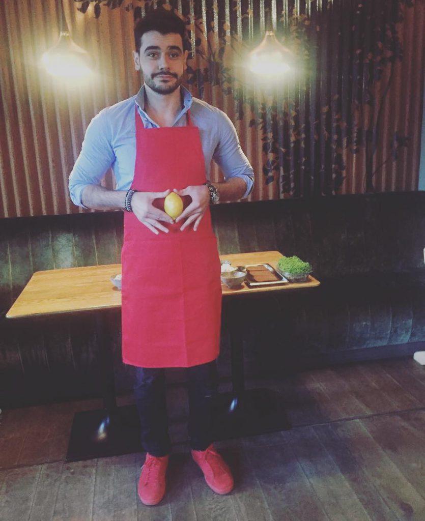 Микаэл Арамян постигал азы кулинарного искусства