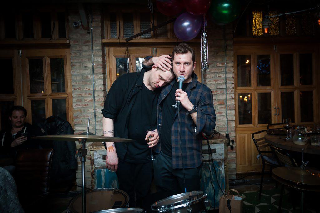 Алексей Киселев и Резо Гигинеишвили