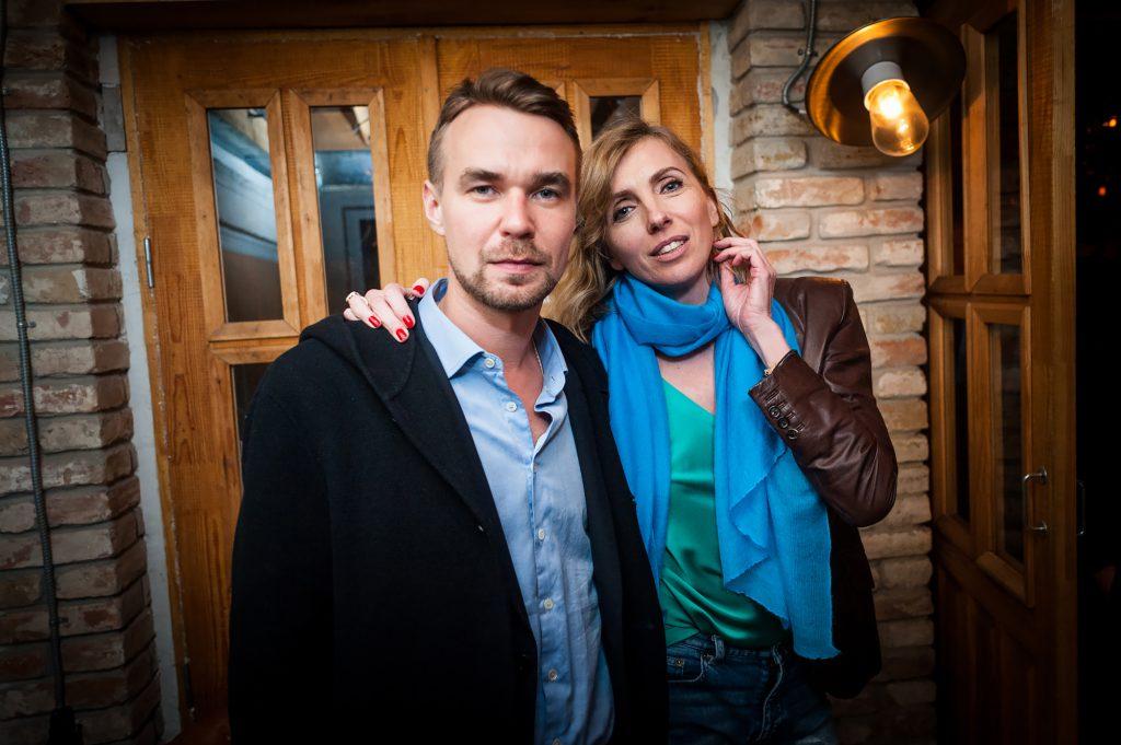 Михаил Ганнушкин и Светлана Бондарчук