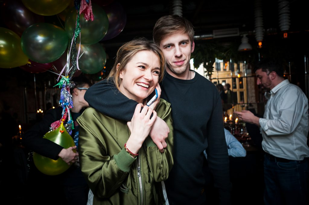 Надежда Михалкова и Александр Паль