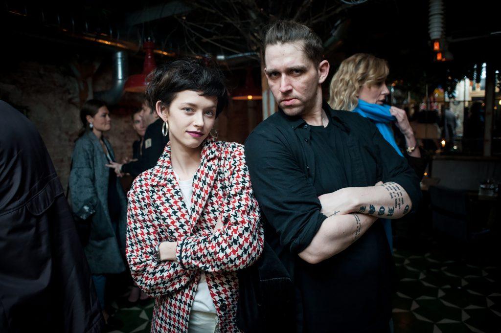 Тинатин Далакишвили и Алексей Киселев