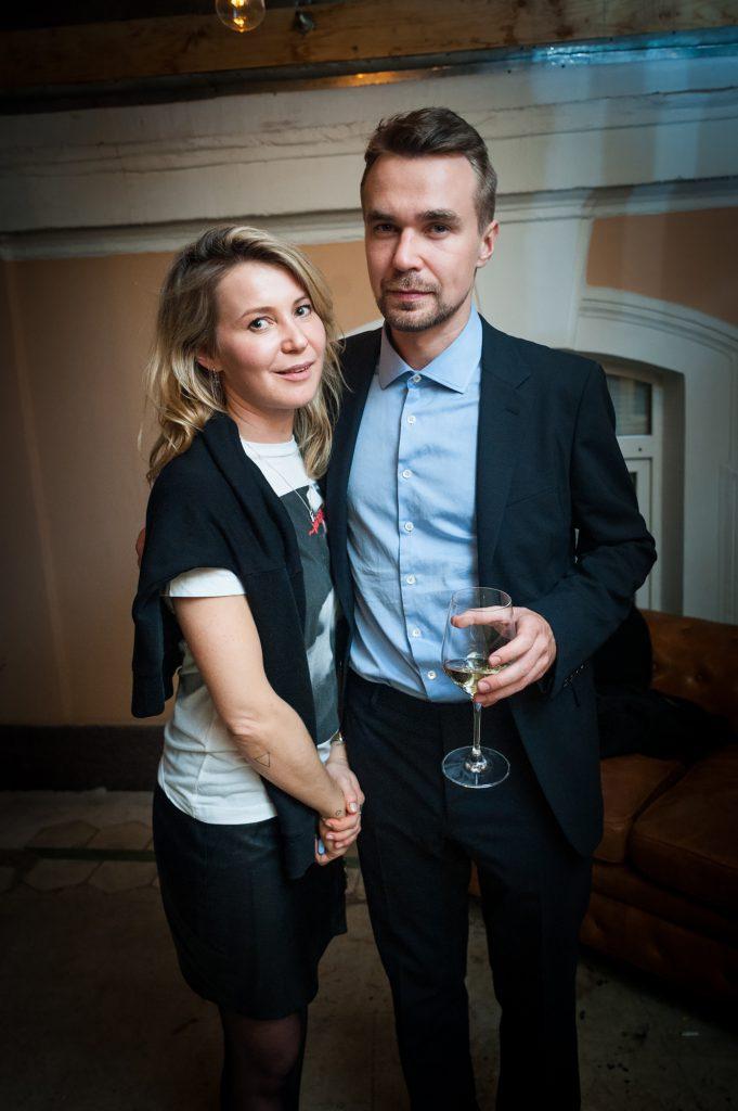 Катя Комолова и Михаил Ганнушкин