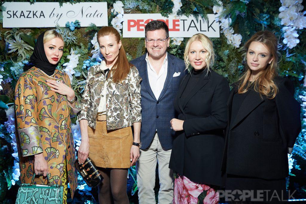 Анна Нерли, Ольга и Константин Андрикопулос, Екатерина Одинцова и Милана Кержакова