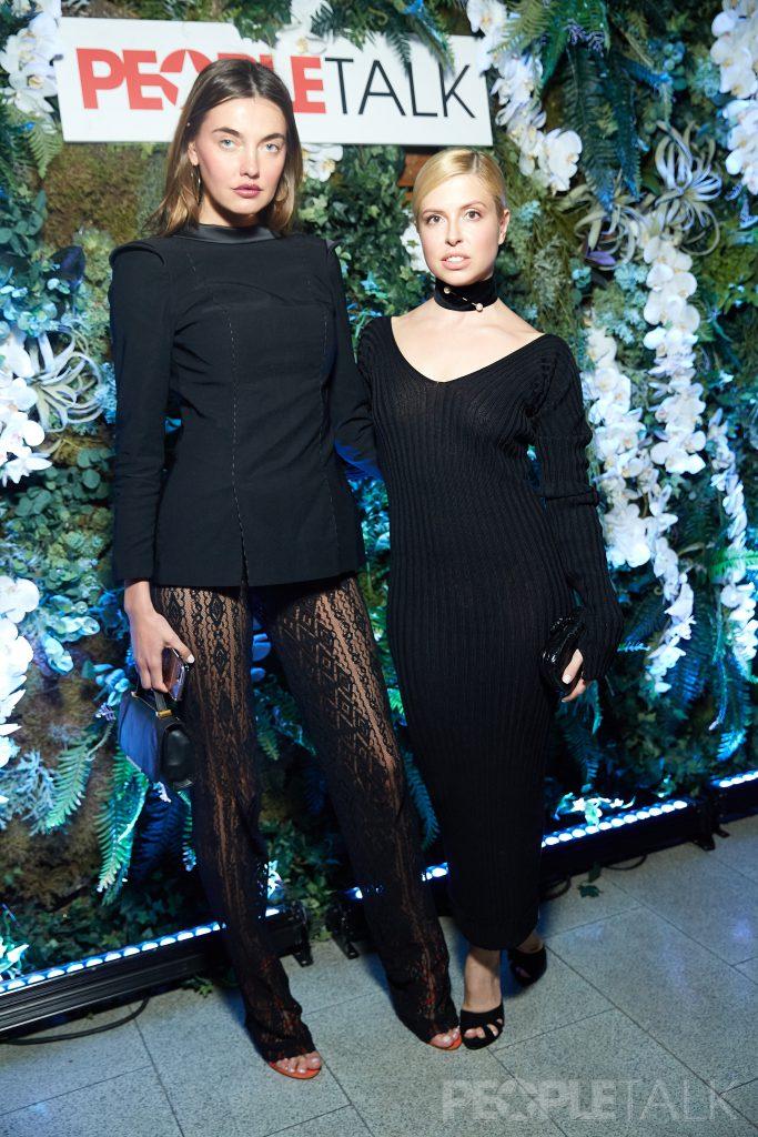 Алина Байкова и Мария Богданович