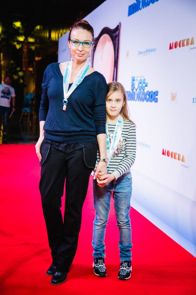Евгения Попова с дочерью