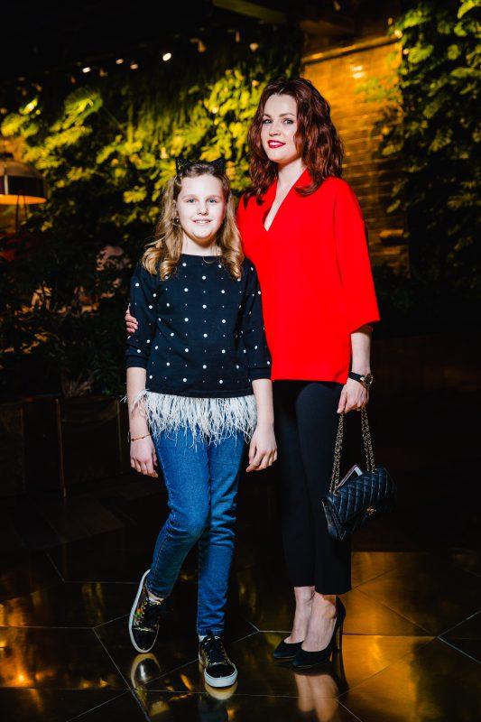 — Екатерина Вуличенко с дочерью