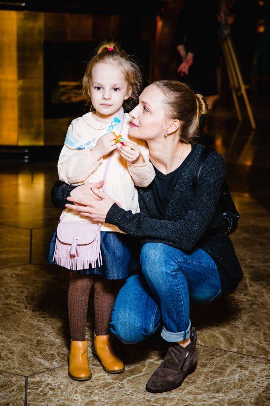 — Екатерина Вилкова с дочерью