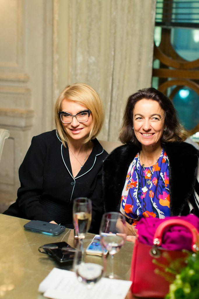 Эвелина Хромченко и Лаудомия Пуччи
