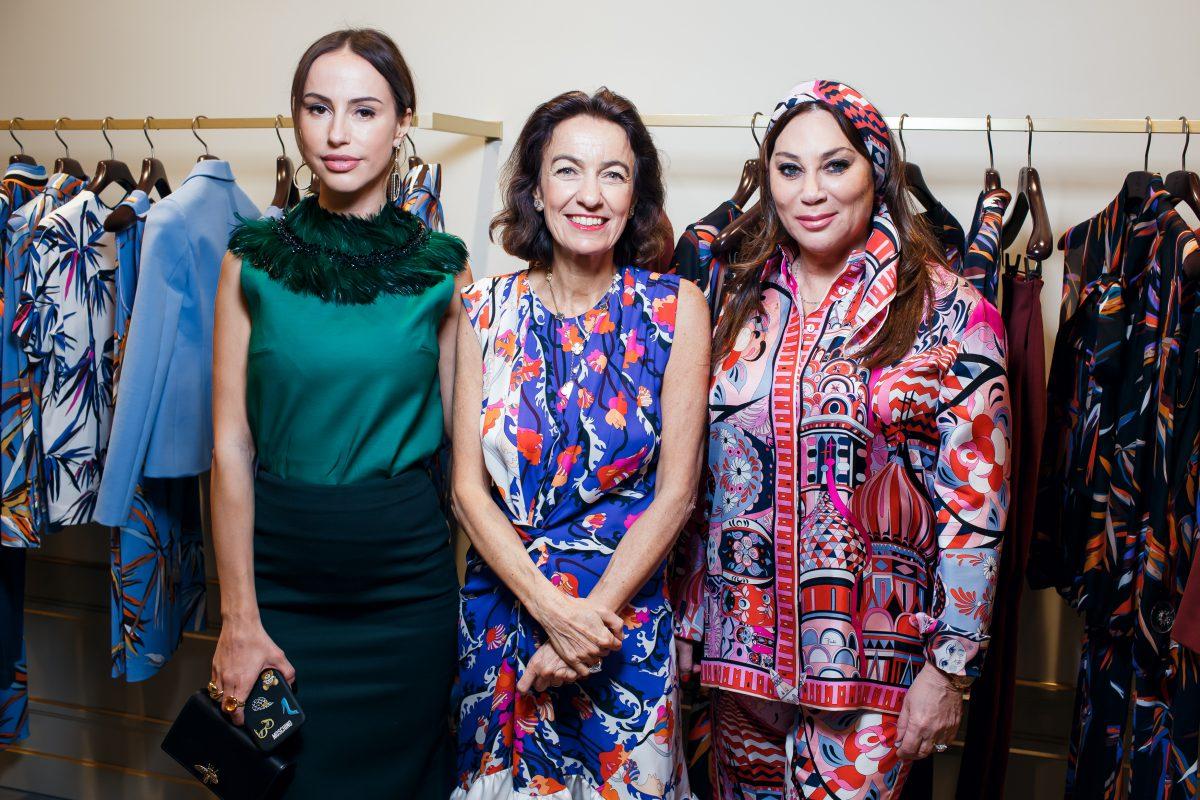 — Милана Королева, Лаудомия Пуччи и Алла Вербер