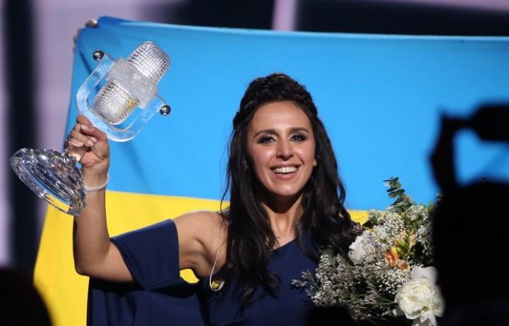 Победительница 2016 года Джамала, которая и привезла конкурс в Киев