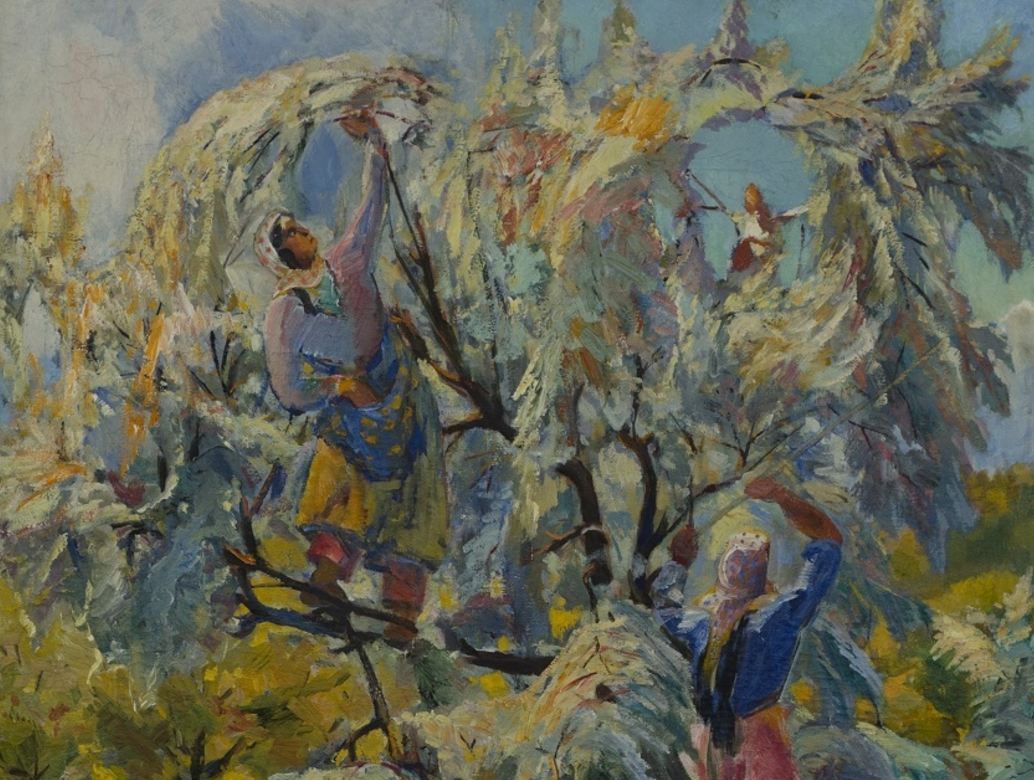 «Сбор пшата» (1936) Седрак Аракелян