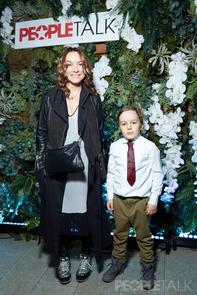 Елена Кипер с сыном