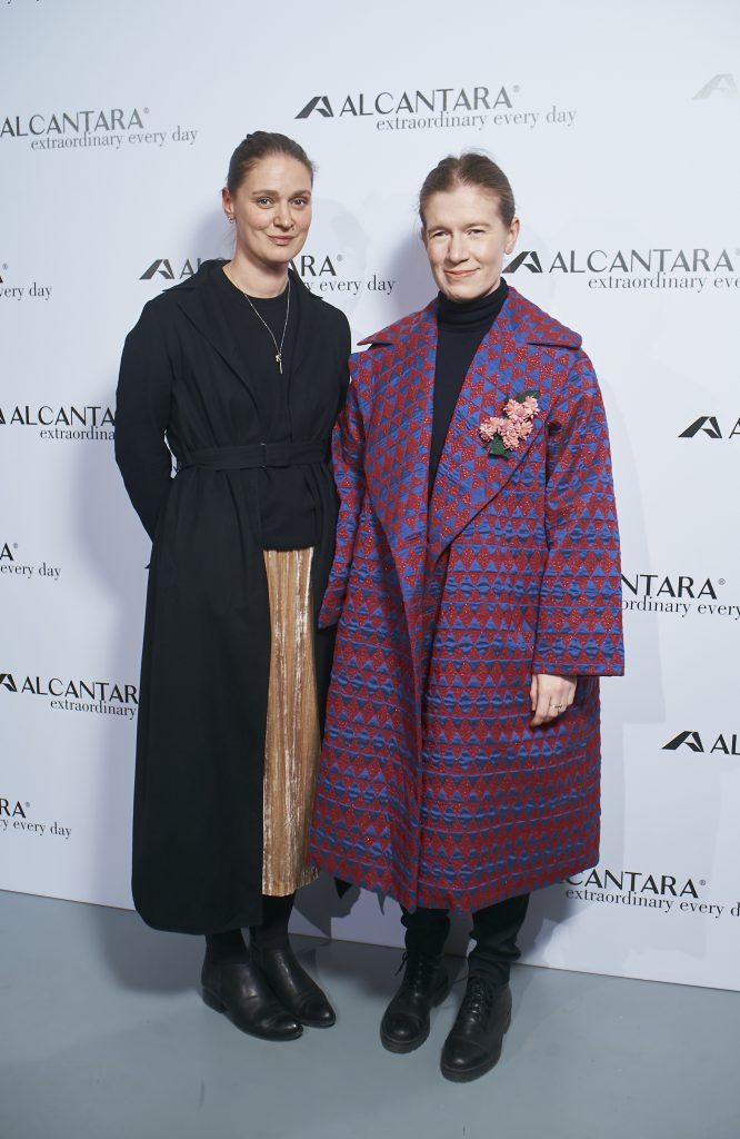 Екатерина Павелко и Мария Смирнова