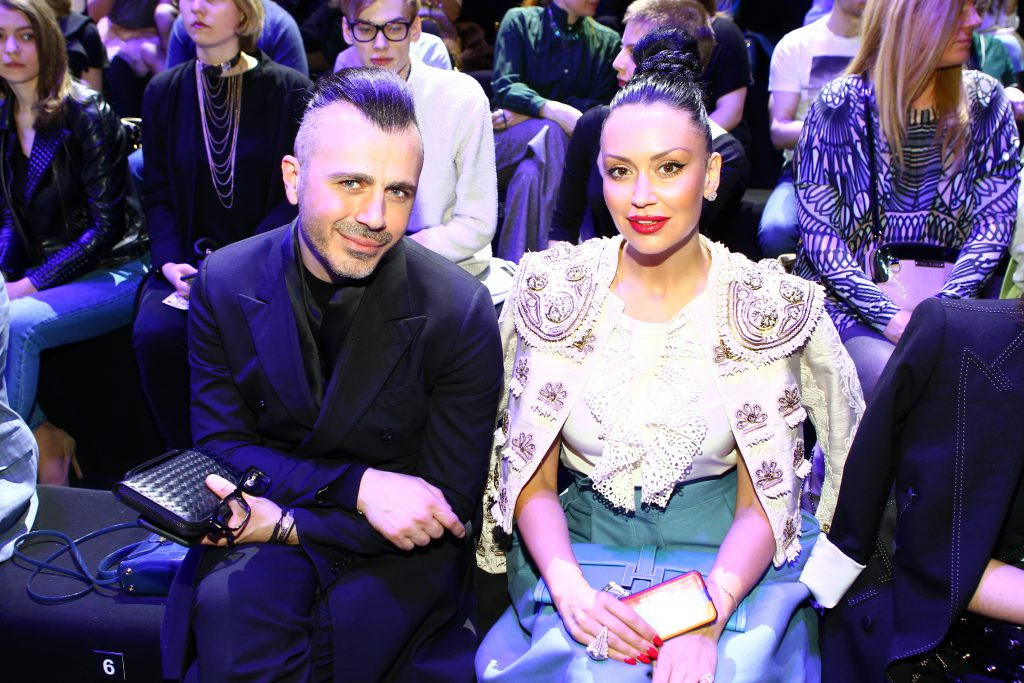 Александр Сирадекиан и Элина джанибекян