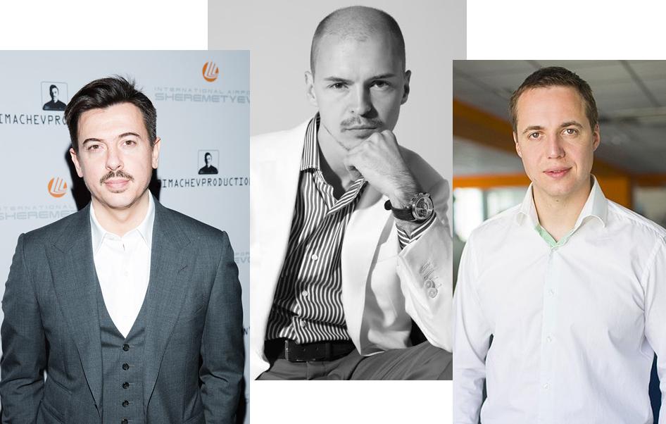 Денис Симачев, Дмитрий Волков и Максим Фалдин