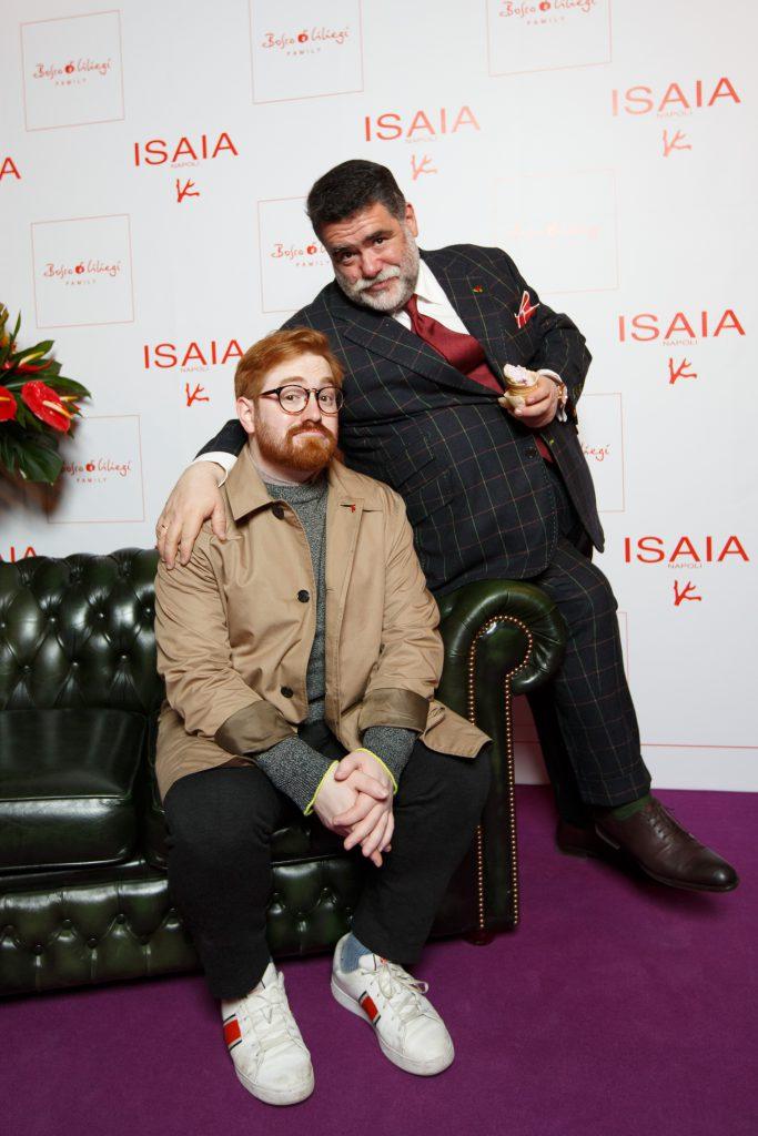 Михаил Куснирович с сыном Ильей