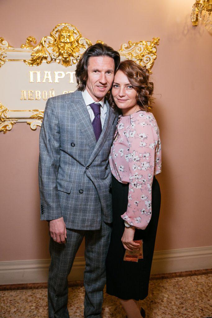 Алексей Смертин с женой