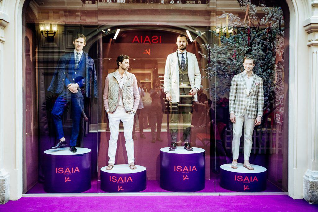 Открытие бутика ISAIA