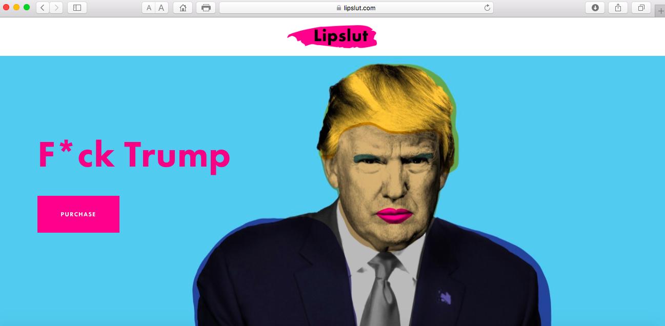 помада F*ck Trump
