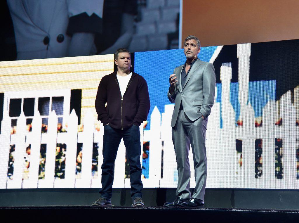 Мэтт Дэймон и Джордж Клуни